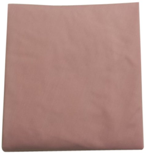 Baby Doll Solid Round Crib Sheet, Pink front-756774