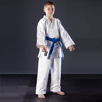 Blitz Sport Kids Traditional Jujitsu Suit 2/150cm White