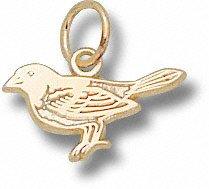 Baltimore Orioles 10K Gold Bird 3/8'' Pendant