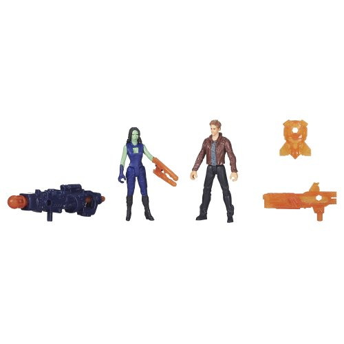 Marvel Guardians of The Galaxy Star-Lord and Gamora Figure (2-Pack)