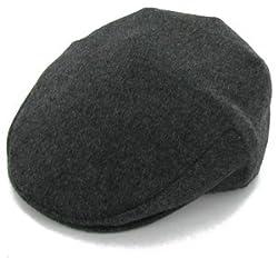 Belfry Jim - 100% Wool Ivy Cap (Small, Black)