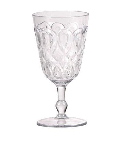 Sheratonn Goblet Set van 6 Goccia transparante