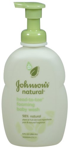 Johnson's Baby Natural Head-to-toe Wash, 9-ounce (Pack of 3)