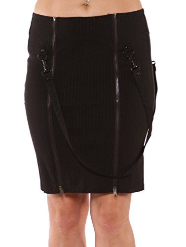 Lip-Service-Industrial-Vice-Pencil-Skirt-With-Bondage-Straps