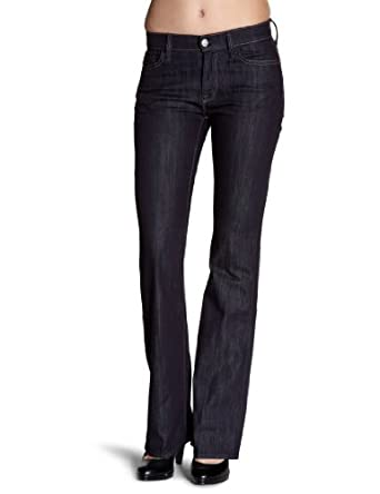 7 for all mankind Damen Jeans Hoher Bund, STHWBNRIN_NULL, Gr. 25, Blau (RINS)
