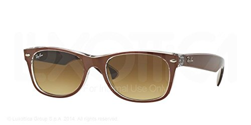 Ray-Ban Men,Women 1062726059 Brown/Brown Sunglasses 55Mm