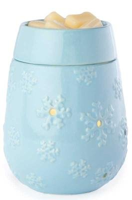 Candle Warmers Illumination Candle Warmer, Snowflake