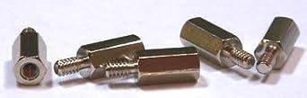 1/4 (AF) Hex Standoffs (Male / Female) / Aluminum / 4-40 X 1/4 / 1,000 Pc. Carton