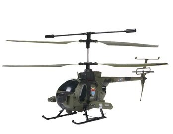 3319B 3.5-Channel R/C Radio Control Helicopter with Camera Gyro (Green)