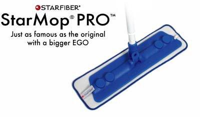 Starfiber Starpro Microfiber Mop and Microfiber Pad Kit 2011 Version Green Trim Pad