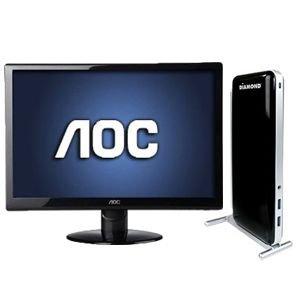 "Aoc 27"" Hdmi, 1080P, 2Ms Led Backlit Monito Bundle"