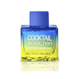Cocktail Seduction Blue Profumo Uomo di Antonio Banderas - 100 ml Eau de Toilette Spray