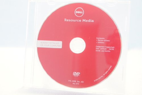 Dell Resource Media DVD ROM PC Comptuer Program