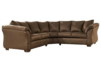 Sectional inEspresso by Ashley Furniture