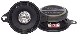 Pyramid 312Sx 3.5-Inch 100 Watts Twoway Dual Cone Speakers
