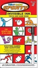 INVISIBLE INK YES & KNOW-SPORTS BK 2