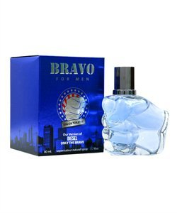BRAVO-PERFUME FOR MEN-2.7 OZ-EDT-VERSION OF DIESEL ONLY THE BRAVE