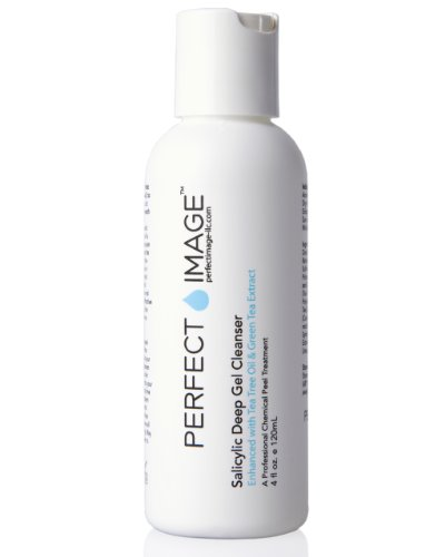 Pre-Peel Salicylic Deep Gel Exfoliating Cleanser - Enhanced With Tea Tree Oil & Green Tea Extract (Professional)