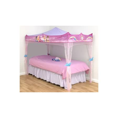Disney Princess Bed Canopy - Stands over single size bed