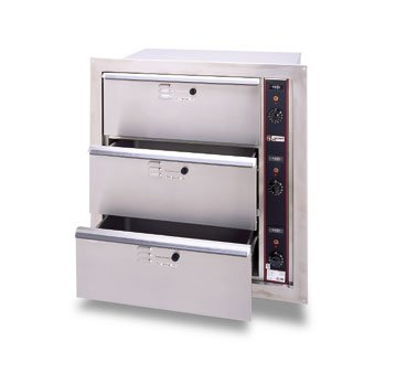 Apw Wyott 120V Built-In Double Holding Drawers, Hdd-1B