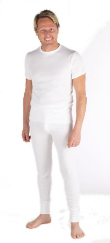 Mens Thermal Underwear 2 T-Shirts and 2 Long Johns