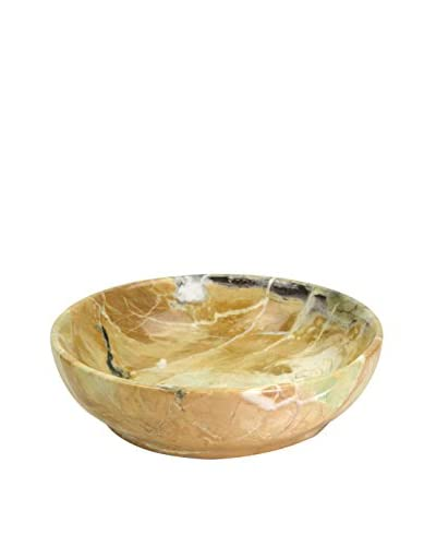 Uptown Down Marble Bowl, Tan