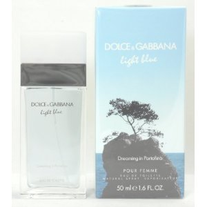 Dolce & Gabbana Light Blue Dreaming In Portofino Eau de Toilette Spray for Women, 1.7 Fluid Ounce