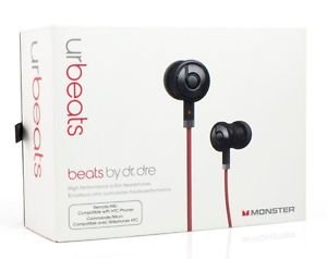 Beats By Dr. Dre Urbeats - Black - Brand New In Sealed Retail Box (Htc Model)