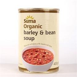 Suma Org Soupe à l'orge Bean 400g x 4