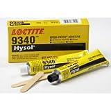 Loctite 9340 Hysol High Temperature 2.7 oz Epoxy Adhesive Kit, Gray
