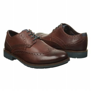 Clarks Men's Garnet Limit Oxford,Chestnut Leather,9 M US