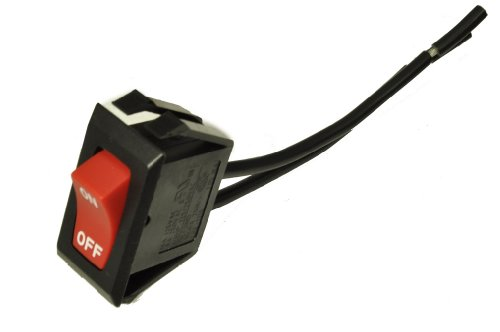 Hoover Upright Vacuum Cleaner Switch front-250072