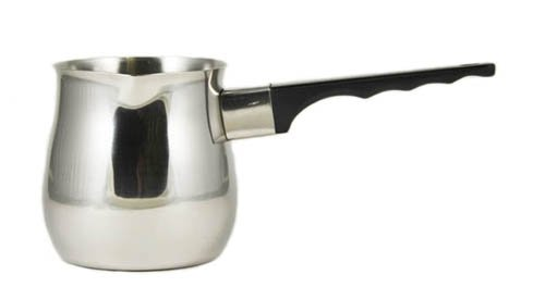 24 Oz. (Ounce) Turkish Coffee Decanter, Espresso Decanter, 18/10 Gauge Stainless Steel, Barista Coffee Decanter Pitcher