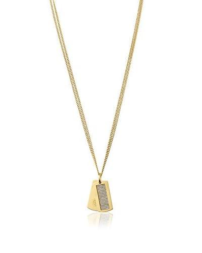Dyrberg/Kern Halskette Halle Sg Crystal goldfarben