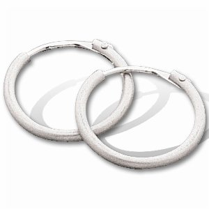 Buy Titanium/Platinum Hoop Earring 10.25 mm