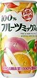 サンガリア 100%フルーツミックスジュース190g缶×30本入