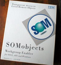 IBM SOMobjects Workgroup Enabler for OS/2, AIX, WINDOWS Version 2.1 CD-ROM
