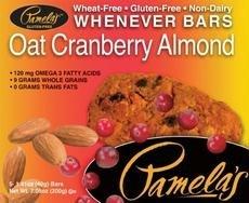 Pamela's Products Bars - Oat Cranberry Almond - 1.4 oz - 5 ct