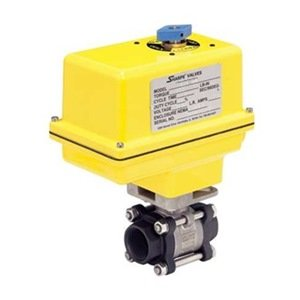 Ball Valve, Electric Actuated, 1/2 In