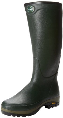 Le Chameau Mens COUNTRY NEO VIB Boots Green Grün (Dark green 0603) Size: 6 (40 EU)