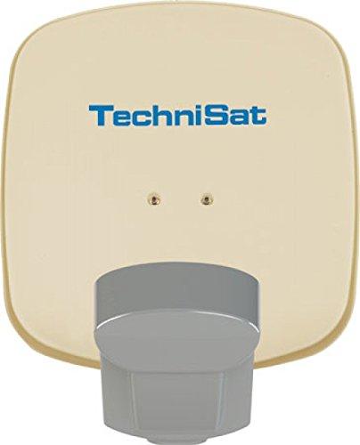 TechniSat 1045/8813 Multytenne Duo-Sat mit Zwei-Teilnehmer beige