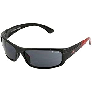 Tampa Bay Buccaneers NFL Team Block Sunglasses With Protective Cloth Lens Cleaning... by MODO