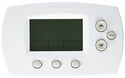 Honeywell TH6110D1005/U FocusPRO 6000 Programmable Thermostat, White (Digital Programmable Thermostat compare prices)