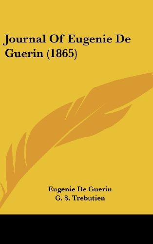 Journal of Eugenie de Guerin (1865)