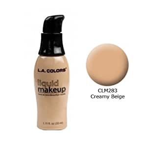 LA COLORS Liquid Makeup-LCLM283 Creamy Beige