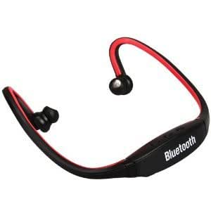 Bluetooth wireless Headset With Micro SD Card slot compatible with Micromax canvas