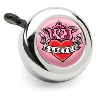 Electra Bicycle Bell (Rose Tattoo)