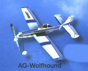 Sky Blue Flight Skyryders Wolfhound Model Kit