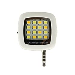 Memore Portable Mini 16 LED Night Using Selfie Enhancing for all device
