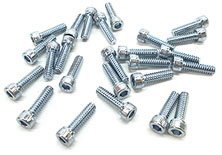 "6-32 x 1/4"" Zinc Socket Head Machine Screw by ServoCity"